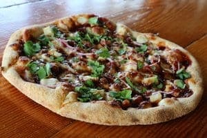 Pi Wood-Fired Pizza BBQ Chicken Pizza